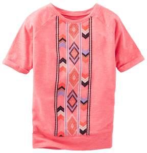 Osh Kosh Girls 4-8 Tribal Tee