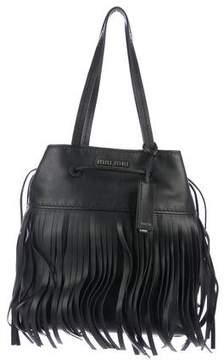 Miu Miu Montana Fringe Bucket Bag w/ Tags
