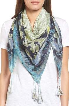 Johnny Was Women's Arina Silk Square Scarf
