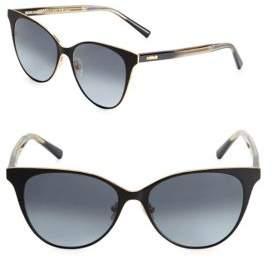 Boucheron Matte Cat Eye Sunglasses