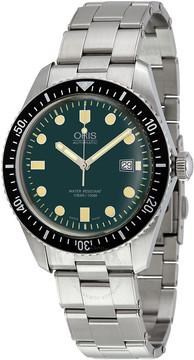 Oris Divers Automatic Green Dial Men's Watch