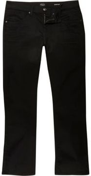 River Island Mens Black Clint bootcut jeans