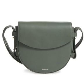 Skagen Lobelle Leather Saddle Bag - Green