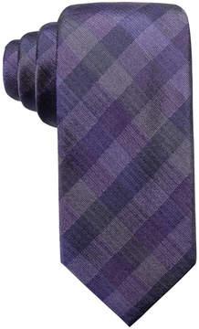 Ryan Seacrest Distinction Men's Warwick Gingham Slim Silk Tie, Created for Macy's