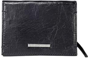 Rebecca Minkoff Regan Leather Card Case - Black - ONE COLOR - STYLE