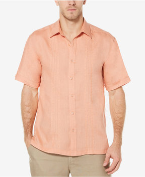 Cubavera Men's 100% Linen Corded Shirt