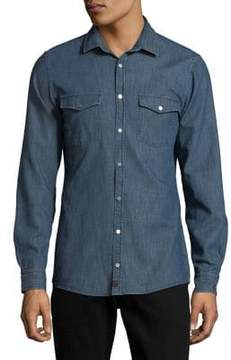 Strellson Denim Button-Down Shirt