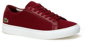 Lacoste Men's Piqu Canvas Low-rise Sneakers