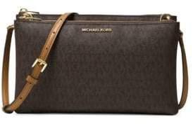 MICHAEL Michael Kors Leather Double Zip Crossbody