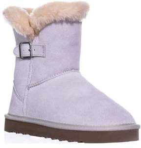Style&Co. Sc35 Tiny2 Cold Weather Comfort Boots, Cream.