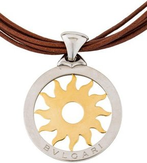 Bvlgari Tondo Sun Pendant Necklace