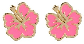 Ariella Collection Flower Earrings