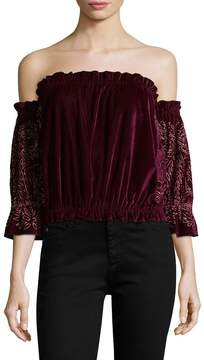 Kas Women's Melanie Ruffled Top