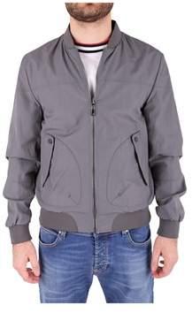 Trussardi Men's Grey Polyester Jacket.