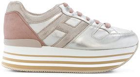 Hogan Maxi H222 flatform sneakers