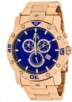 Jivago Titan JV9126XL Men's Round Rose Gold Tone Stainless Steel Watch