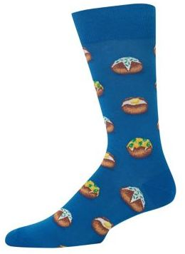 Hot Sox Baked Potato Socks