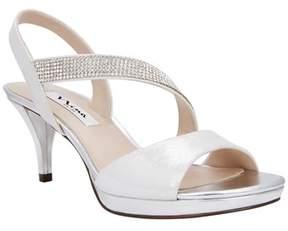 Nina Novelle Asymmetrical Strap Sandal.