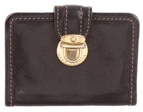 Marc Jacobs Leather Card Holder - BLACK - STYLE