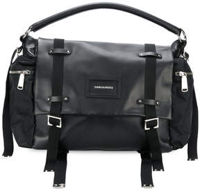 DSQUARED2 buckle duffle bag