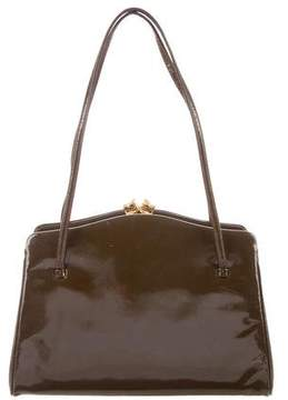 Judith Leiber Leather Handle Bag