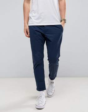 Esprit Chino Pant With Cropped Tapered Leg