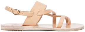 Ancient Greek Sandals Alethea Calfskin Leather Sandals in Neutrals.