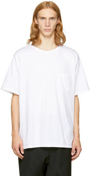 Facetasm White Big Rib T-Shirt