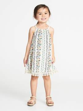Old Navy Lace-Hem Floral Dress for Toddler Girls