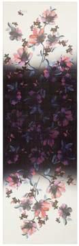 St. John Ombre Naveena Floral Print Silk Georgette Scarf