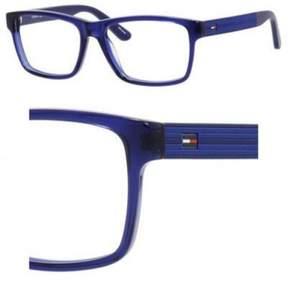 Tommy Hilfiger Eyeglasses T_hilfiger 1237 01IA Transparent Blue