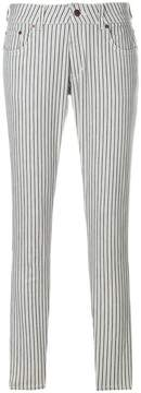6397 Stripe Skinny Trousers