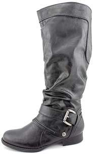 Bare Traps Baretraps Julee Womens Faux Leather Fashion Knee-high Boots.