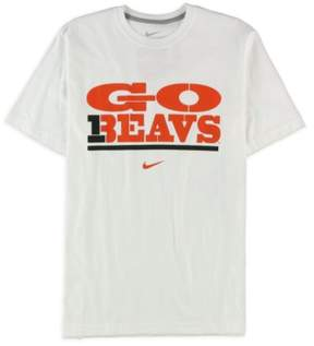 Nike Mens Go Beavs Graphic T-Shirt White M