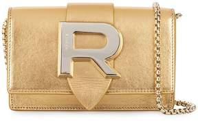 Rochas logo shoulder bag