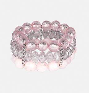 Avenue Pink Bead Stretch Bracelet