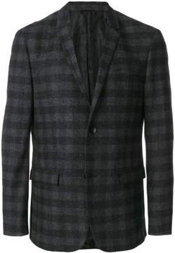 Calvin Klein checked blazer