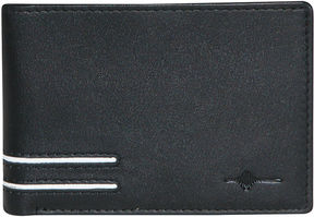 JCPenney Buxton Luciano RFID Front Pocket Slimfold Leather Wallet
