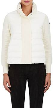 Moncler Women's Down-Quilted & Wool Sweater
