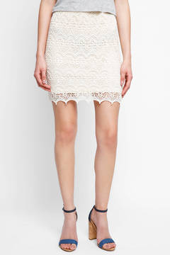 Ark & Co Lace Mini Skirt