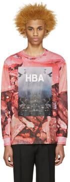 Hood by Air Pink Overcome T-Shirt