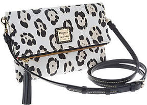 Dooney & Bourke As Is Serengeti Foldover Zip Crossbody - ONE COLOR - STYLE