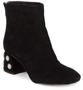 Nanette Lepore Nanette By Rose Suede Booties
