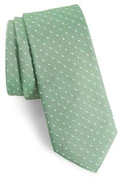 1901 Men's Paseo Dot Silk Skinny Tie