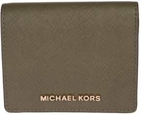 MICHAEL Michael Kors Jet Set Travel Wallet - OLIVE - STYLE