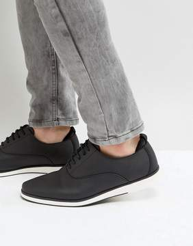 Call it SPRING Shysie Lace Up Shoes In Black
