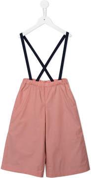 Familiar brace detail trousers