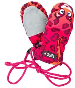 Barts Leopard Nylon Water Resistant Mittens