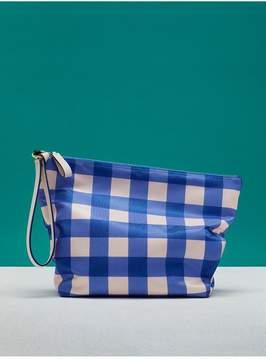 Diane von Furstenberg | Printed Origami Wristlet | Cossier klein blue