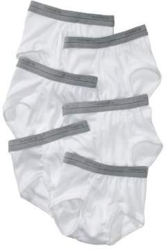 Hanes Baby Toddler Boy Underwear Briefs, 6-Pack